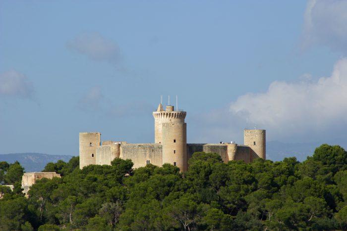Vista panorámica del castillo